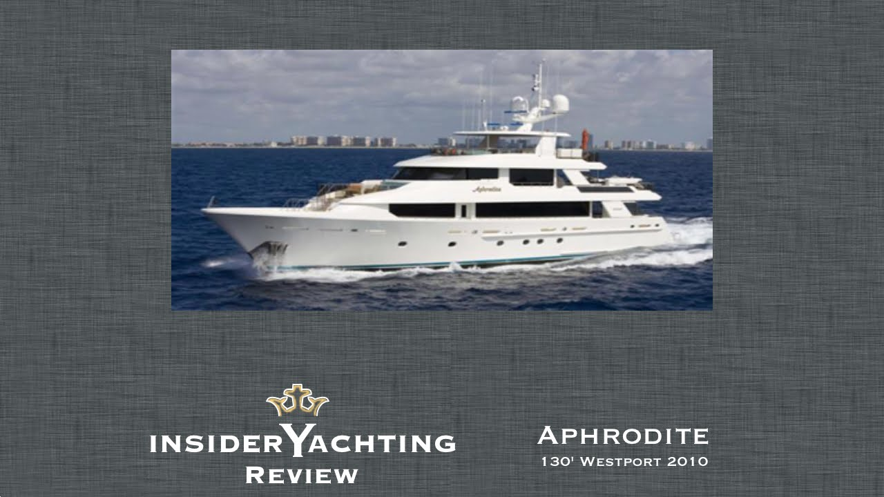 Motor Yacht Aphrodite Video Review Photos Insider Advice