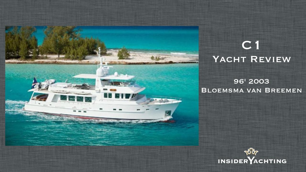 Motor Yacht C1 Video Review Photos Insider Advice